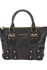 Michael by Michael Kors Leigh Medium Satchel - Lyst
