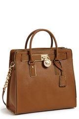 Michael by Michael Kors Hamilton Large Leather Tote - Lyst