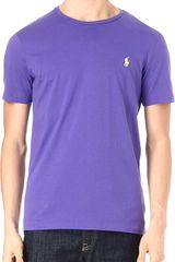 Ralph Lauren Custom Fit Tshirt - Lyst