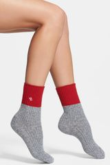 Ralph Lauren Colorblock Socks - Lyst