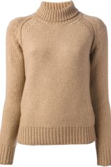 Rochas Roll Neck Sweater - Lyst