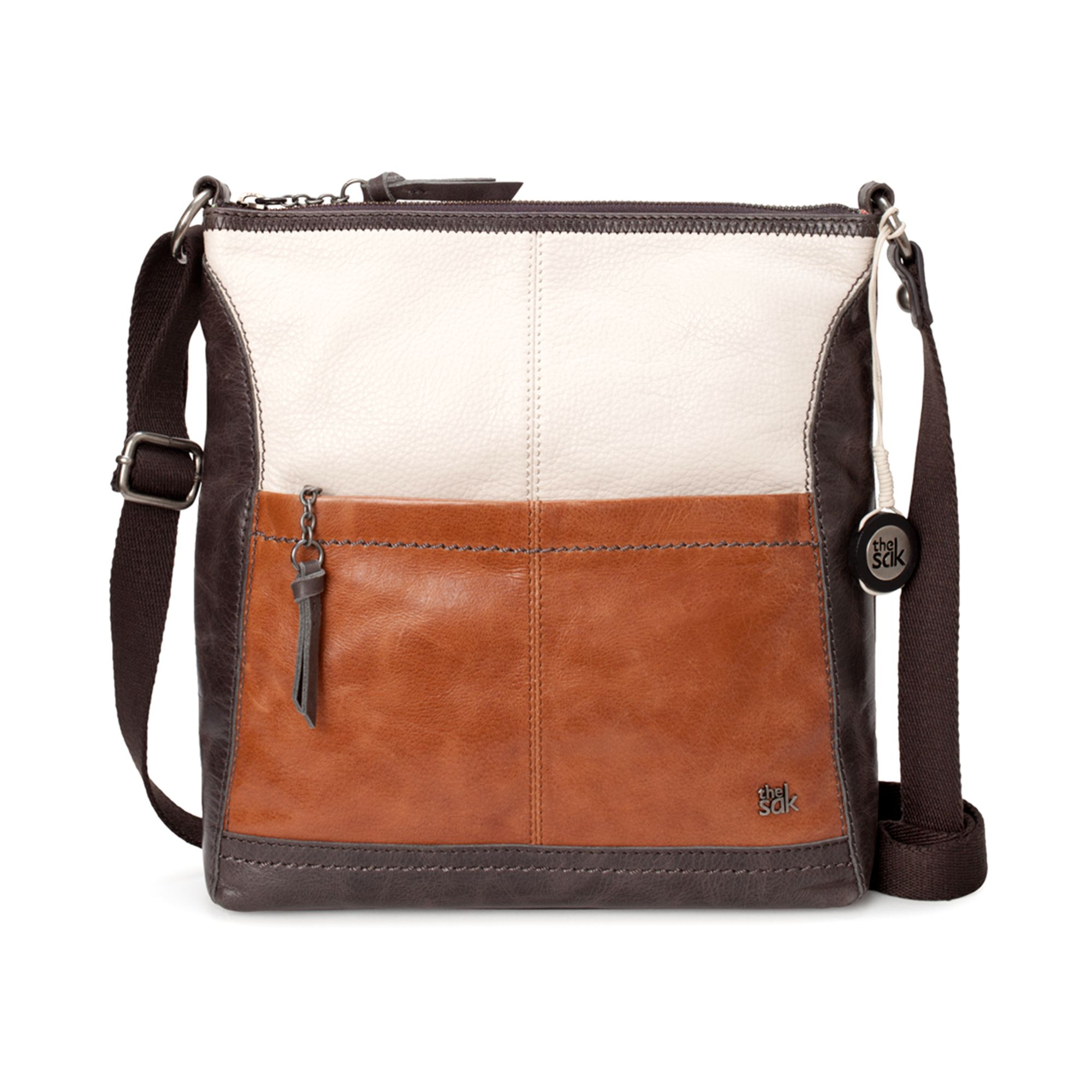 Lyst - The Sak Iris Leather Crossbody Bag in Brown