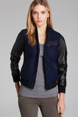 True Religion Jacket Richie Varsity - Lyst