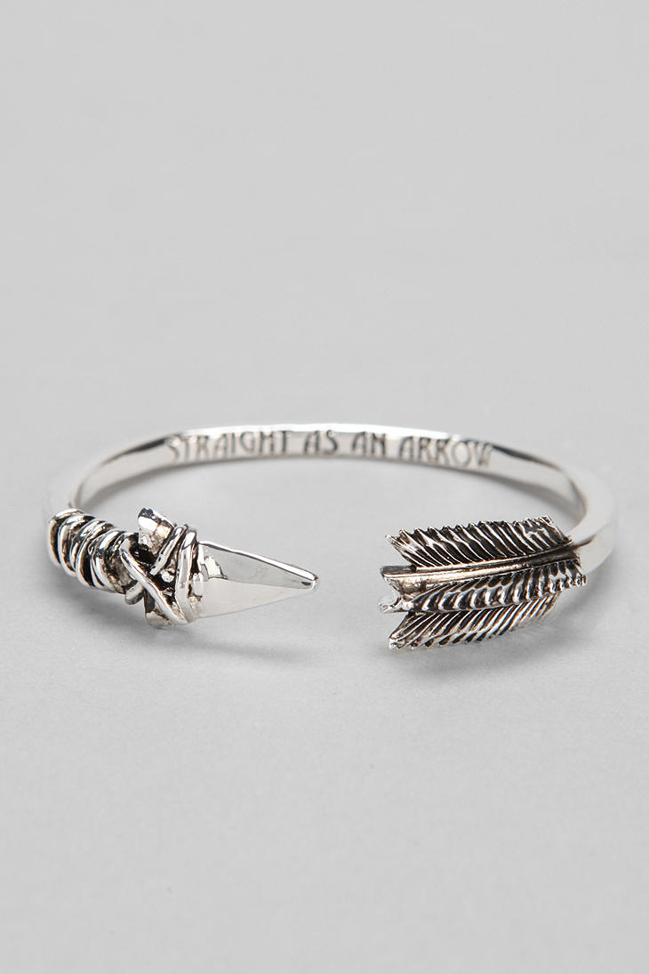 Han Cholo Arrow Bracelet In Metallic Lyst