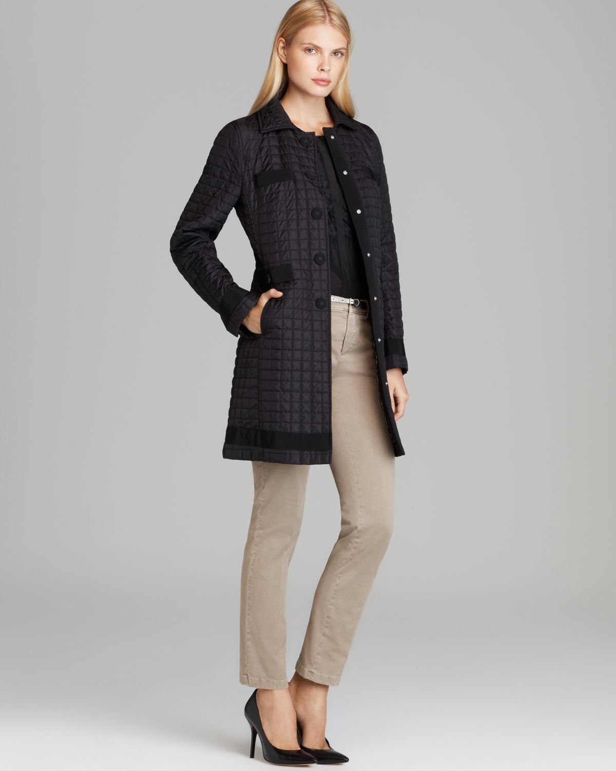 Lyst Weekend By Maxmara Weekend By Max Mara Quilted Coat
