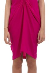 Zero + Maria Cornejo Ruched Tunic Dress - Lyst