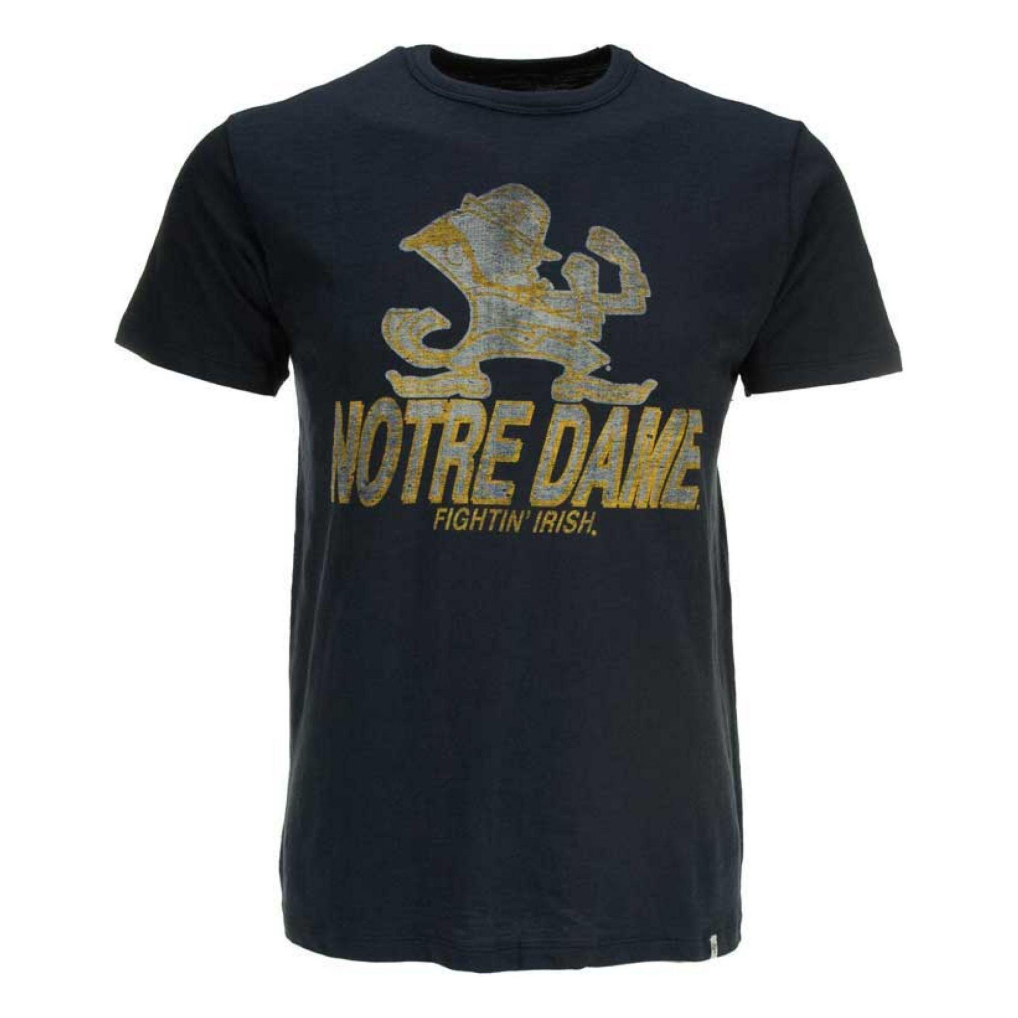 47 Brand Mens Short Sleeve Notre Dame Fighting Irish T