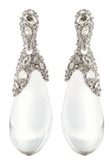 Alexis Bittar Pave Crystal Lucite Drop Earrings - Lyst