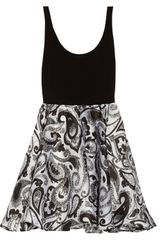 Alice + Olivia Tahlia Printed Silk organza Dress - Lyst