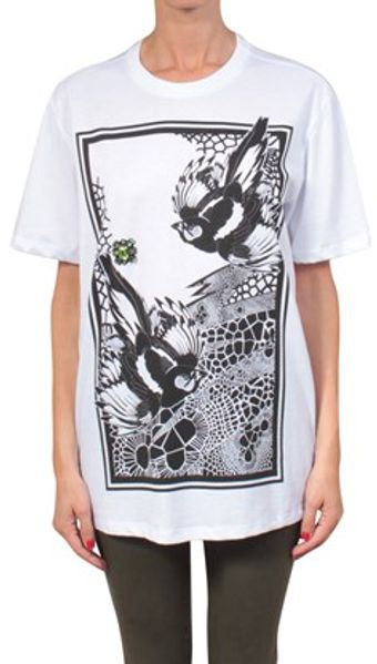 Amen Cotton Tshirt with Print and Embroidery - Lyst