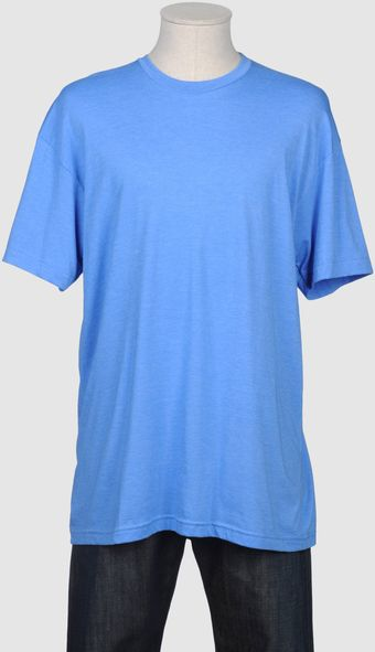 American Apparel Short Sleeve T-shirt - Lyst