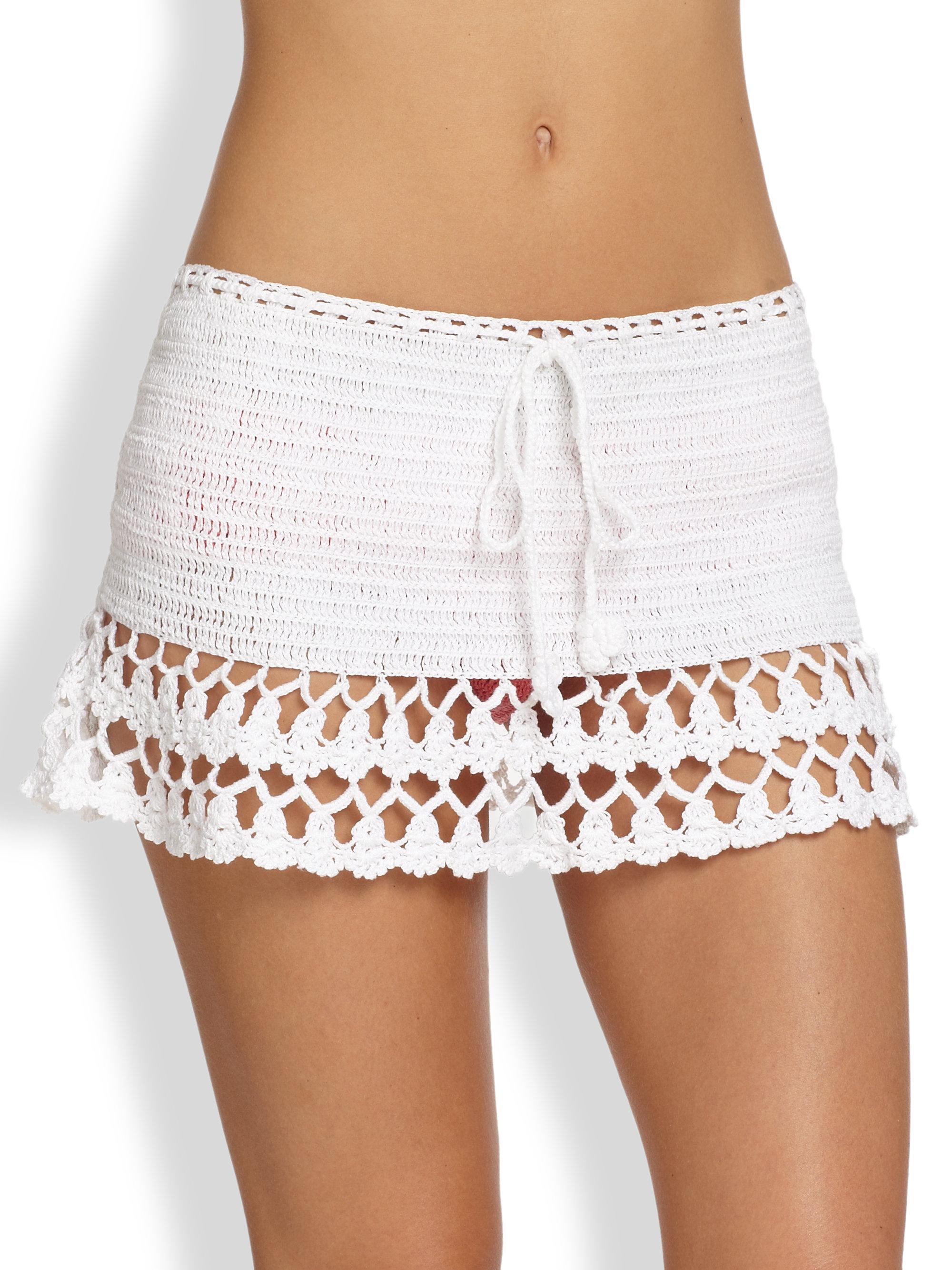 Lyst Anna Kosturova Frilly Frill Skirt In White