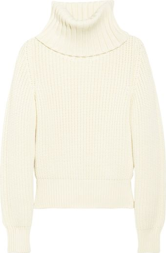 Antonio Berardi Chunky Knit Wool Turtleneck Sweater - Lyst