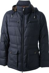Brunello Cucinelli Padded Jacket - Lyst