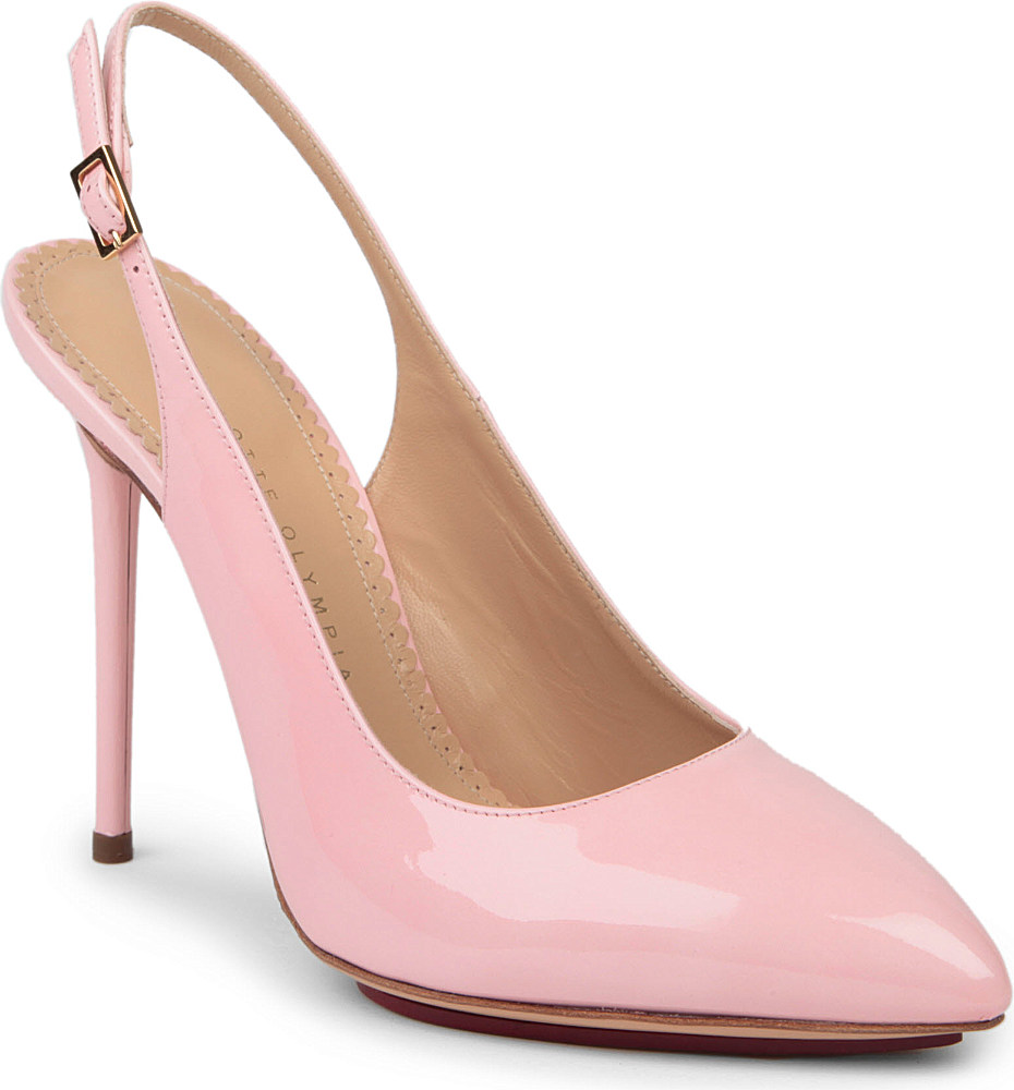 Pale Pink Patent Leather Shoes
