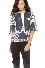 Clover Canyon  Tie Event Blouse - Lyst