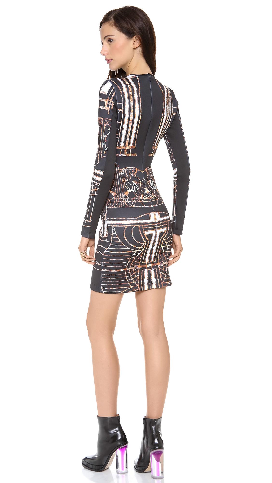 Lyst Clover Canyon Gatsby Long Sleeve Dress