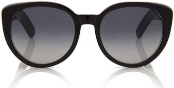 Cutler & Gross Black Oversized Thick Acetate Sunglasses - Lyst