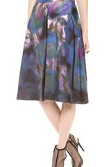 Cynthia Rowley Inverted Pleat Skirt - Lyst