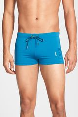Diesel Aloha Swim Trunks - Lyst