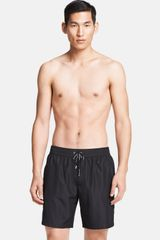Dolce & Gabbana Short Swim Trunks - Lyst
