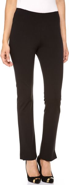 Donna Karan New York Slim Pants with Ankle Vents - Lyst