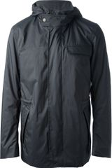 Ermenegildo Zegna Hooded Raincoat - Lyst