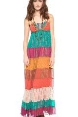 Free People Gilden Caravan Maxi Dress - Lyst