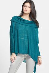 Free People Banana Split Cowl Neck Top - Lyst