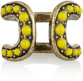 Giles & Brother Cortina Goldtone Cabochon Ring - Lyst