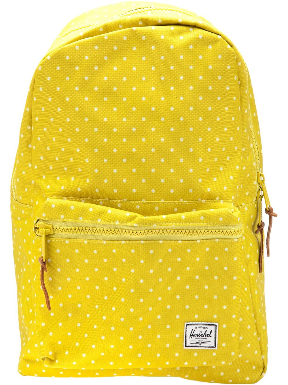 f2b80f42870 Lyst - Herschel Supply Co. Settlement Backpack in Yellow for Men