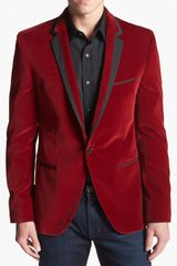 Hugo Askell Trim Fit Velvet Dinner Jacket - Lyst