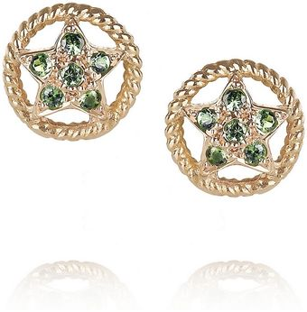 Ileana Makri Sheriff 18karat Rose Gold Tsavorite Stud Earrings - Lyst