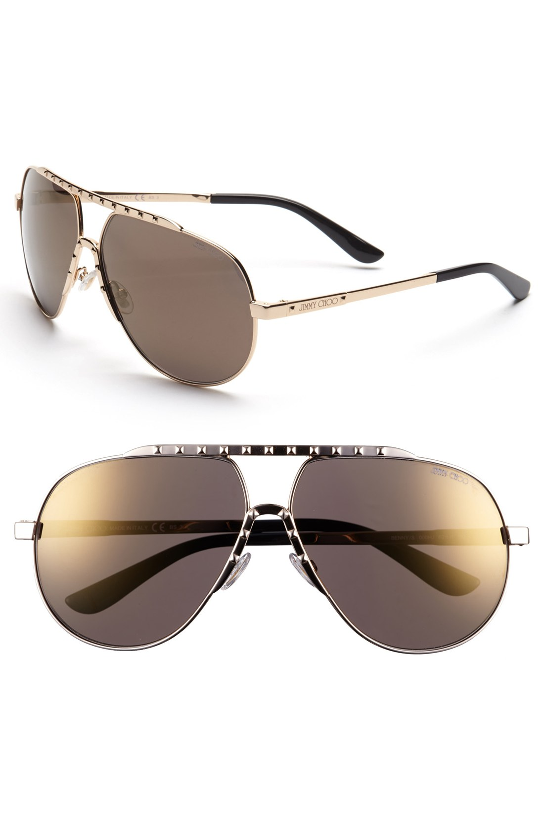 074a7d510f3e Jimmy Choo Cher Aviator Sunglasses | United Nations System Chief ...