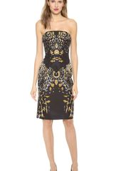 Josh Goot Strapless Dress - Lyst