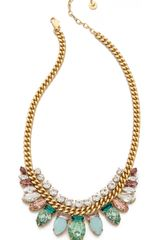 Juicy Couture Teardrop Chain Link Necklace - Lyst