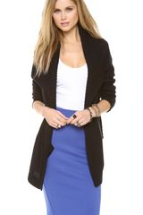 Juicy Couture Draped Cardigan - Lyst