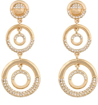 Kara Ross Graduating Dome Outline Earrings - Lyst