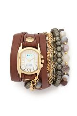 La Mer Collections Positano Wrap Watch - Lyst
