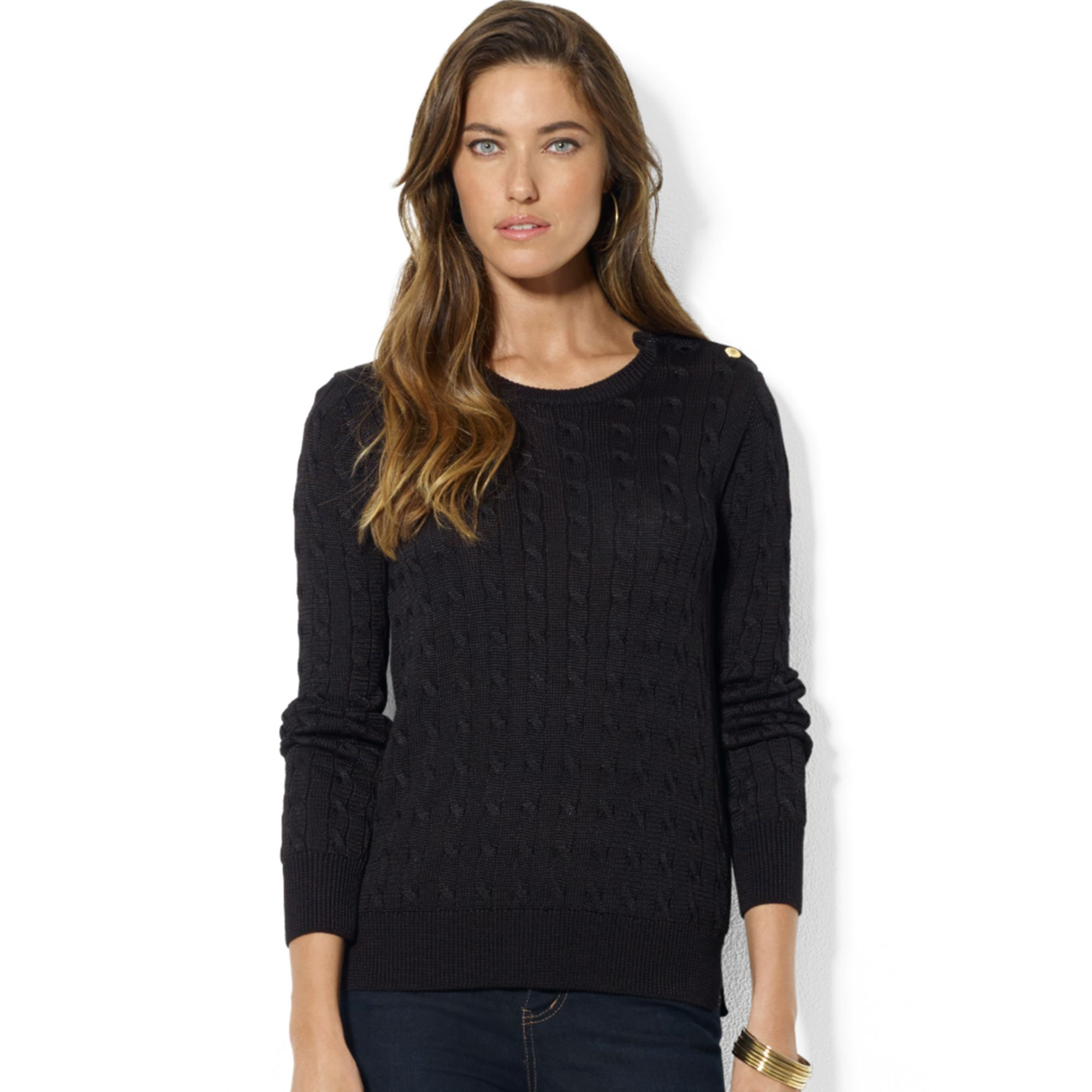 38db79cb21 Gallery. Previously sold at  Macy s · Women s Cable Knit Sweaters ...