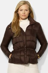 Lauren by Ralph Lauren Box Quilted Jacket - Lyst