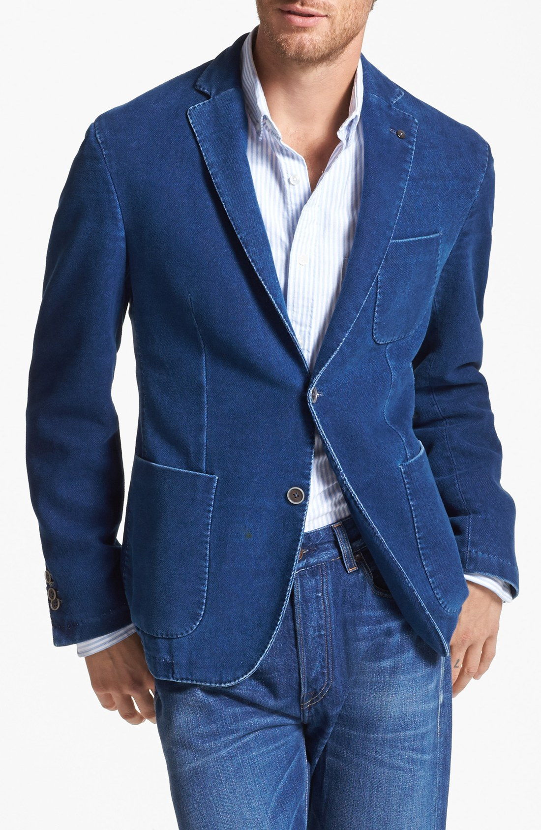 Free shipping and returns on Men's Denim Coats & Jackets at getson.ga