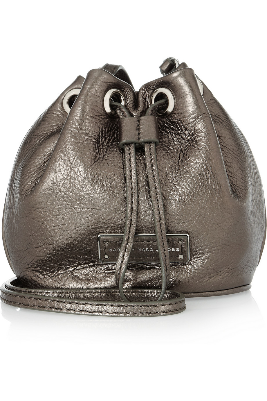 ca08f2dddb Marc By Marc Jacobs Too Hot To Handle Metallic Leather Shoulder Bag ...