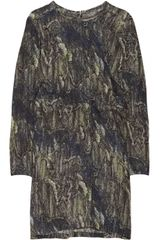 Marni Printed Silk gauze Dress - Lyst