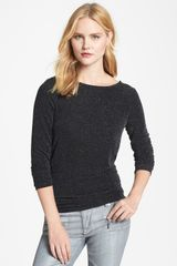 Michael by Michael Kors Draped Back Top - Lyst
