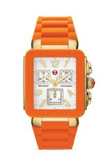 Michele Park Jelly Bean Orange Watch 33mm - Lyst