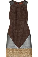 Missoni Paneled Boucle Pique and Crochet-knit Dress - Lyst