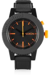 Nixon Gogo Rubber Watch - Lyst