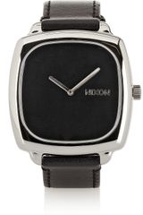 Nixon The Shutter Stainless Steel and Leather Watch - Lyst