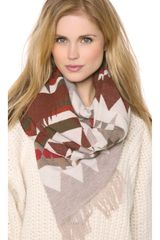 Pendleton, The Portland Collection Pattern Friged Scarf - Lyst